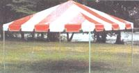 Where to find TENT, 15 X15    RED WHITE    FRAME in Kingsport