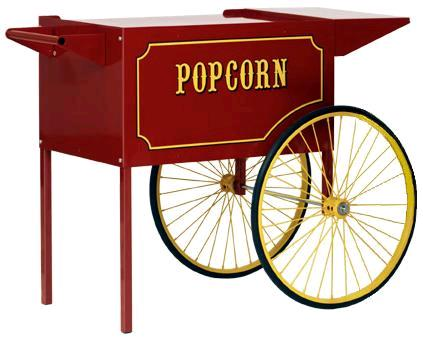 Where to rent POPCORN CART  RED in Gate City VA, Rogersville TN, Johnson City Tennessee, Kingsport, Elizabethtown TN, Walnut Hill TN