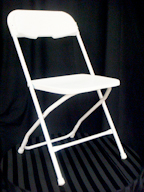 Where to find CHAIR,  WHITE   FOLDING  OLDER in Kingsport