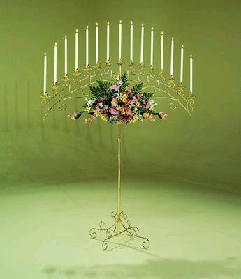 Where to find BRASS, 15 LITE ARCH   CANDELABRA in Kingsport