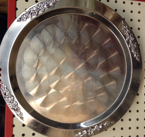 Where to find TRAY, SERVING 25  S S SILVER TRIM in Kingsport