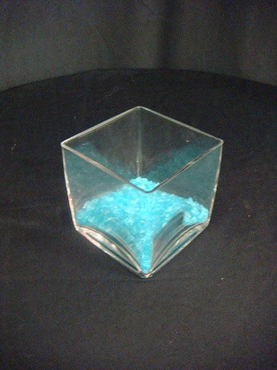 Where to find VASE, GLASS   SQUARE CUBE   4 X4 in Kingsport