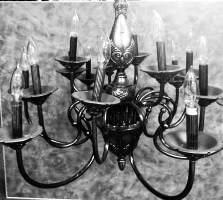 Where to find CHANDELIER, IRON  15 LIGHT  TIERED in Kingsport