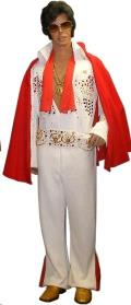 Rental store for ELVIS JUMPSUIT  WHITE GOLD  X-LARGE in Kingsport TN