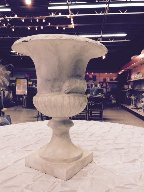 Where to find FRENCH URN   FAUX MARBLE   19   tall in Kingsport