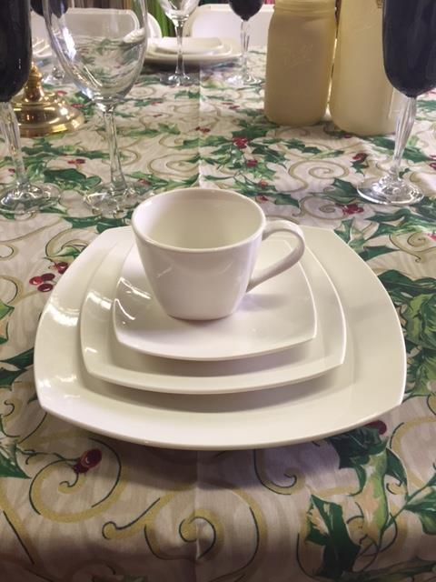 Where to find PLATES, WHITE  SQUARE  COFFEE- SAUCER in Kingsport