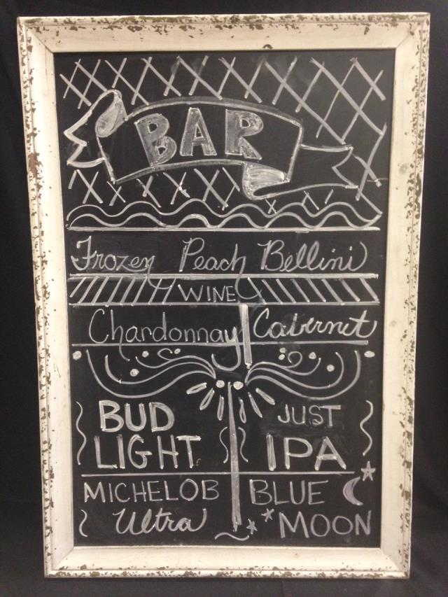 Where to find CHALKBOARD  27 X 35   IVORY CRACKLED in Kingsport