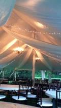 Rental store for TENT DRAPING FABRIC  40X40  POLE TENT in Kingsport TN
