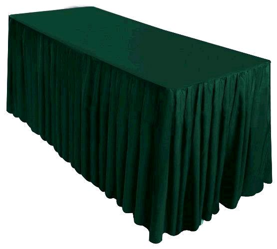 Where to find TABLE SKIRTING HUNTER GREEN in Kingsport