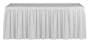 Where to find TABLE SKIRTING, WHITE in Kingsport