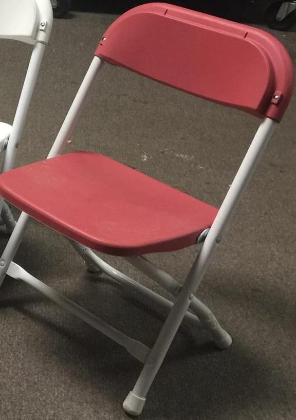 Where to find CHAIRS, CHILDREN  RED  FOLDING in Kingsport