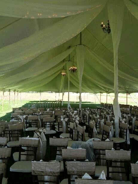Where to find TENT DRAPING  40 X160   POLE TENT in Kingsport
