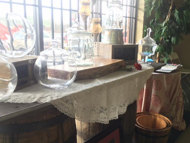 Where to find RUSTIC  WOODEN   CAKE STAND  12 X25 in Kingsport