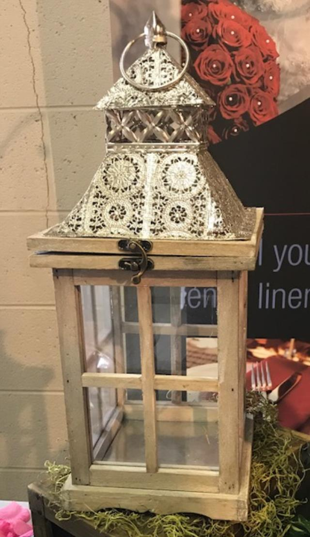 Where to find LANTERN,  WOOD   SILVER SCROLL  16 in Kingsport