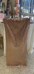 Rental store for CHIAVARI CUSHION  SEQUIN -BLUSH in Kingsport TN