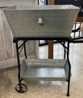 Rental store for GALVANIZED  BEVERAGE STAND  2 TRAY in Kingsport TN