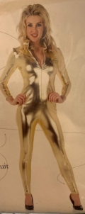 Rental store for 70 S GOLD  METALLIC  JUMPSUIT  M in Kingsport TN