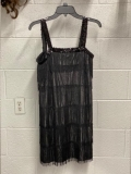 Rental store for FLAPPER, BLACK W  SEQUIN STRAPS  SM in Kingsport TN