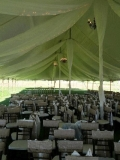 Rental store for TENT DRAPING  SECTION  40  POLE TENT in Kingsport TN