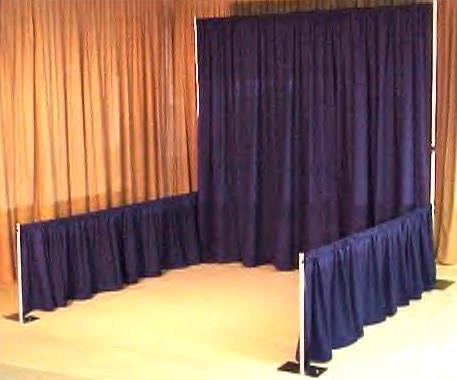 Where to rent DRAPE, P   D-3 FT. TALL   1.50 in Gate City VA, Rogersville TN, Johnson City Tennessee, Kingsport, Elizabethtown TN, Walnut Hill TN