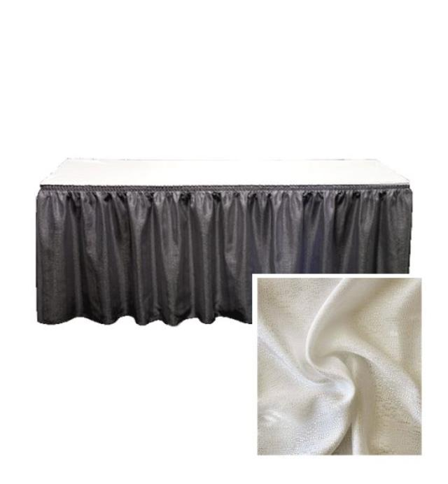 Where to find DRAPE, P   D  IVORY  SKIRTING  30 X29 in Kingsport