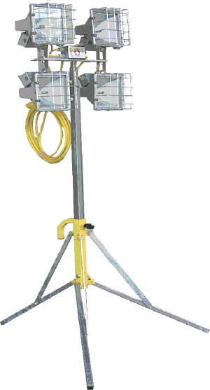 Where to rent LIGHT, 7 FT MINI LIGHT TOWER 4-500 WATT in Gate City VA, Rogersville TN, Johnson City Tennessee, Kingsport, Elizabethtown TN, Walnut Hill TN