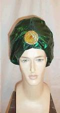Rental store for HAT-GREEN LAME TURBAN in Kingsport TN