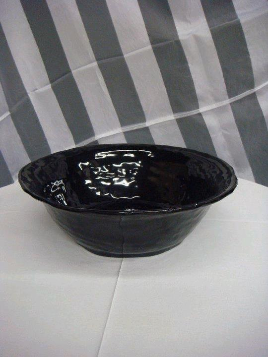 Where to find FLARED BOWL  BLACK  ACRYLIC in Kingsport