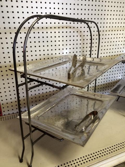 Where to find TRAY,PEWTER RECTANGLE  2 LEVEL  LARGE in Kingsport