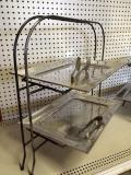 Rental store for TRAY,PEWTER RECTANGLE  2 LEVEL  LARGE in Kingsport TN