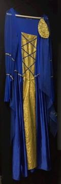 Rental store for GUINEVERE DRESS  ROYAL BLUE   GOLD in Kingsport TN