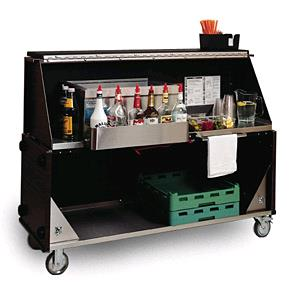 Where to find BAR,  BLACK  PORTABLE   6 FT  WITH SHELF in Kingsport